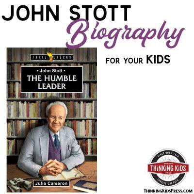 John R W Stott Biography for Your Kids