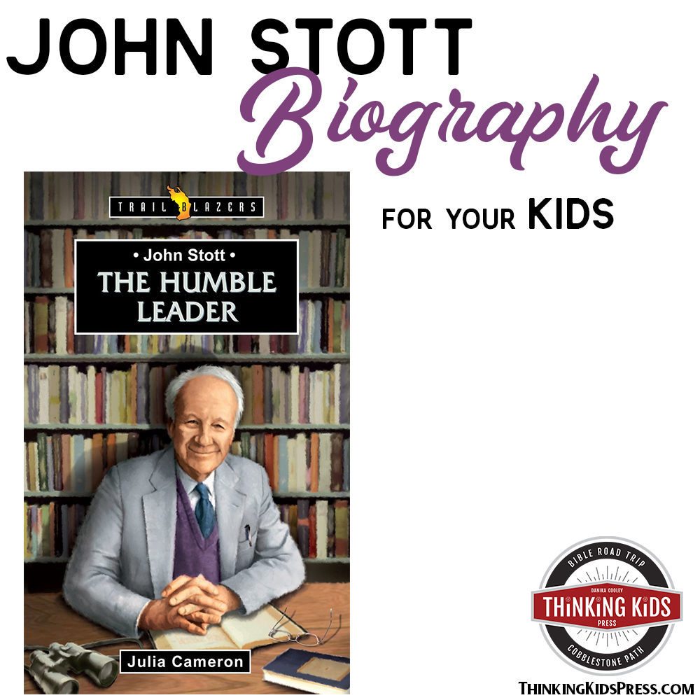 John R W Stott Biography for Your Kids