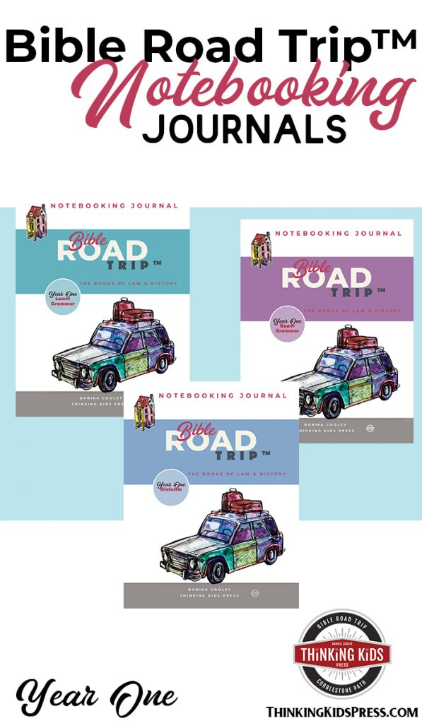 Bible Road Trip Notebooking Journals