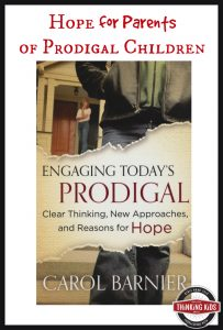 Engaging Today's Prodigal gives hope to Christian parents.