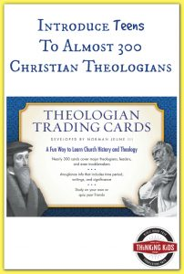 Introduce teens to nearly 300 Christian theologians!