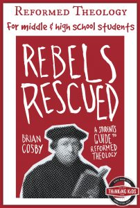 Rebels Rescued is a great explanation of Reformed theology for middle and high school students.
