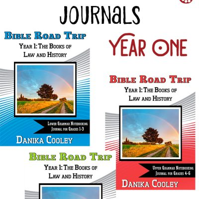 Bible Road Trip™ Year One Bible Notebooking Pages