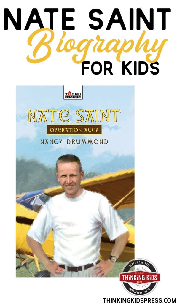 Nate Saint Biography for Kids