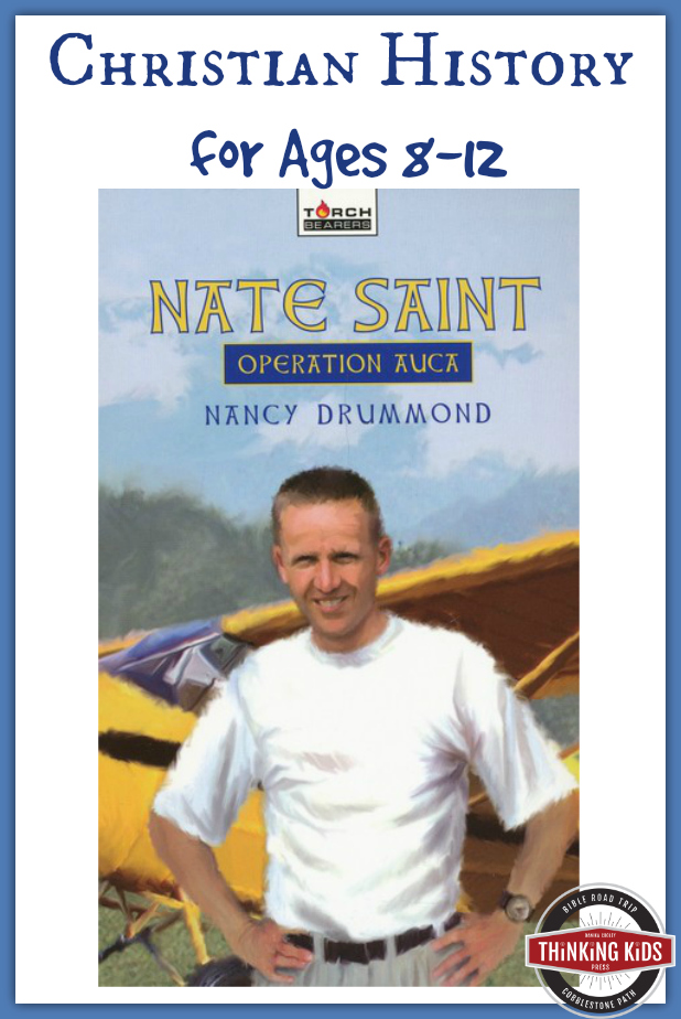 Nate Saint is a touching story of missions and martyrdom for 8-12 year olds.