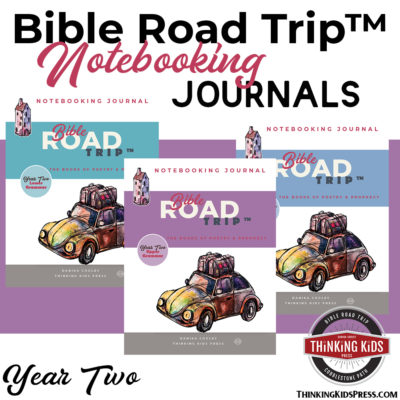 Bible Road Trip™ Year Two Bible Notebooking Pages