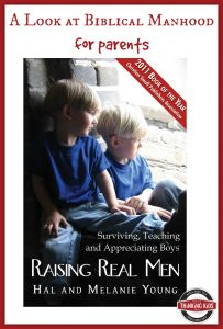 Raising Real Men is a look at biblical manhood for parents.