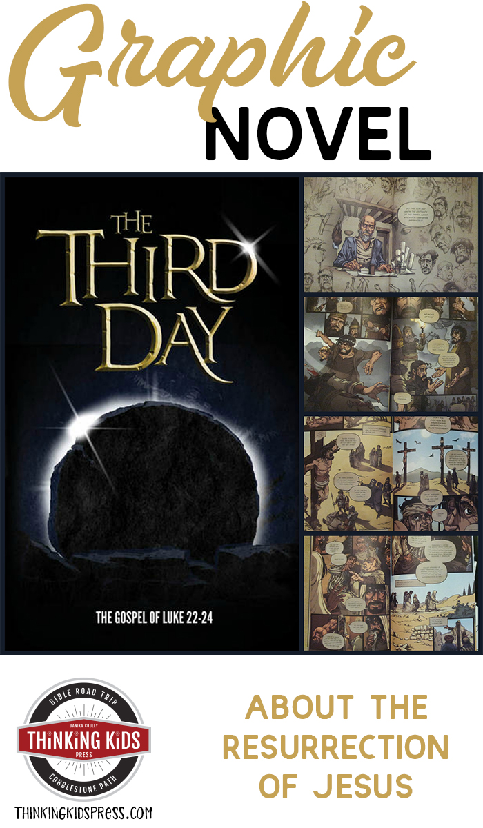 Graphic Novel of the Resurrection of Jesus Check out this wonderful graphic novel for teens about the resurrection of Jesus Christ: The Third Day: The Gospel of Luke Chapters 22-24