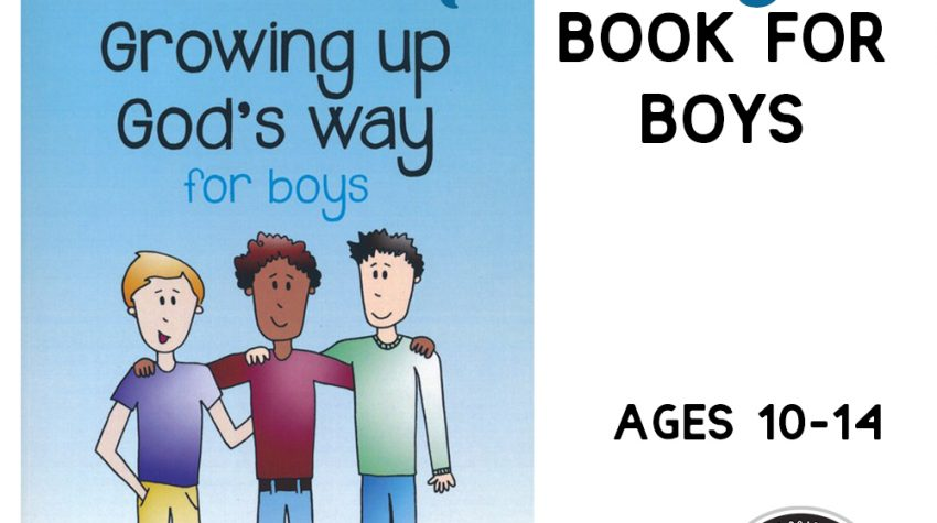 Christian Puberty Book for Boys ages 10-13