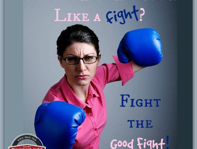 Does parenting feel like a fight? Fight the good fight.