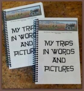 My Trips Notebooking Journals Bound