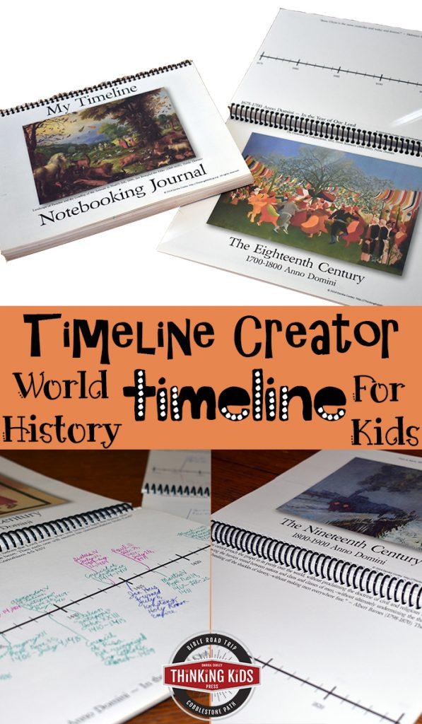 Timeline Creator: World History Timeline for Kids