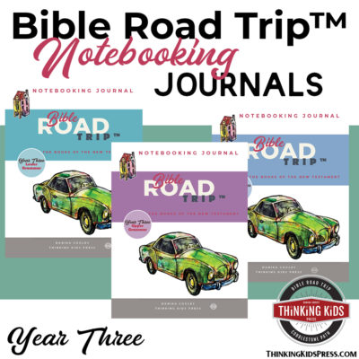Bible Road Trip™ Year Three Bible Notebooking Pages