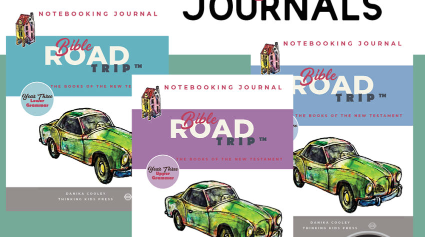 Bible Road Trip™ Year Three Notebooking Journals