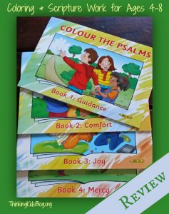 Colour the Psalms ~ Scripture coloring for kids ages 4-8