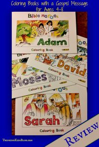 Bible Heroes Coloring Books!