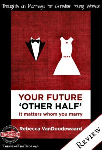 Wise advice for young adults: it matters whom you marry.
