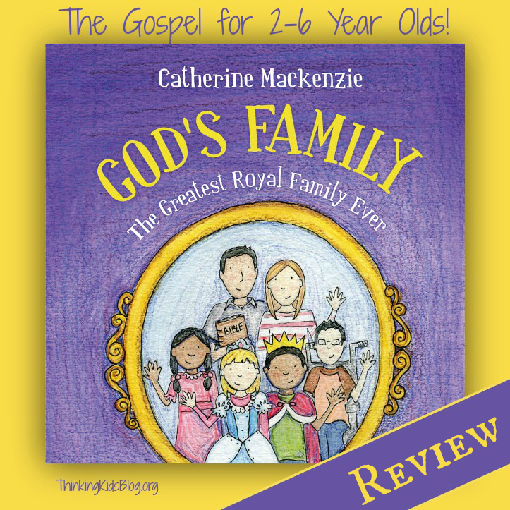 A fabulous preschool book: God's Family