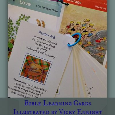 Bible Learning Cards from Words2Remember4Kids {Review}