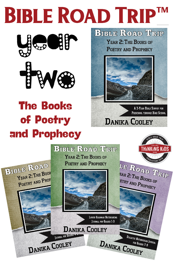 Bible Road Trip™ Year Two: The Books of Poetry and Prophecy