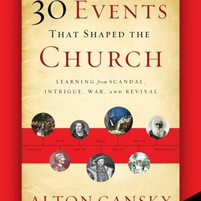 30 Events That Shaped the Church by Alton Gansky {Review}