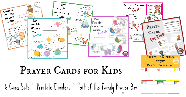 Prayer Cards for Kids