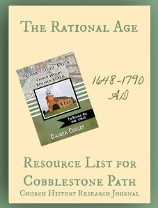 Resource List for Cobblestone Path The Rational Age