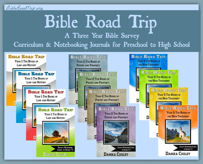 Bible Road Trip is a three-year Bible survey curriculum for preschool to high school!