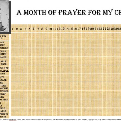 Give Them Grace ~ Chapters 7-9 {Prayer Challenge, Printable, Book Discussion}