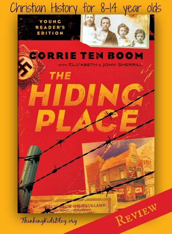 This is a wonderful version of Corrie Ten Boom's story for middle grade and middle school readers!