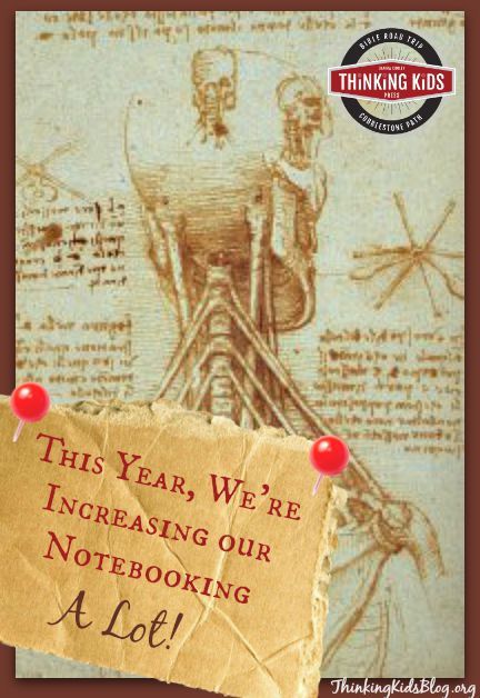 This year, we're really increasing our notebooking time!