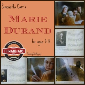 Marie Durand is an addition to Simonetta Carr's excellent line of biographies for children ages 7-12.