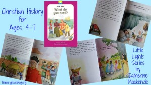 What do you need? is an excellent addition to the Little Lights biography line for ages 4-7.