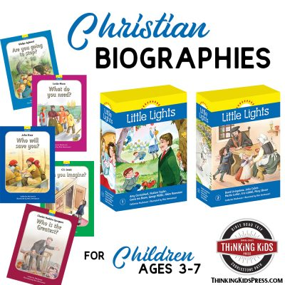 Christian Biographies for Children Ages 3-7