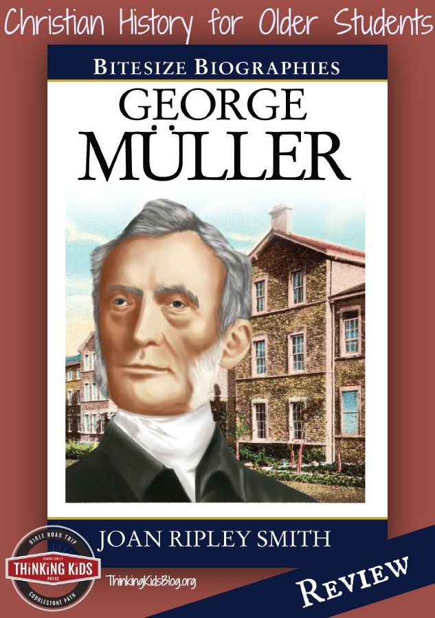 A great biography for middle and high school!