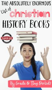 The Absolutely Enormous List of Christian History Books