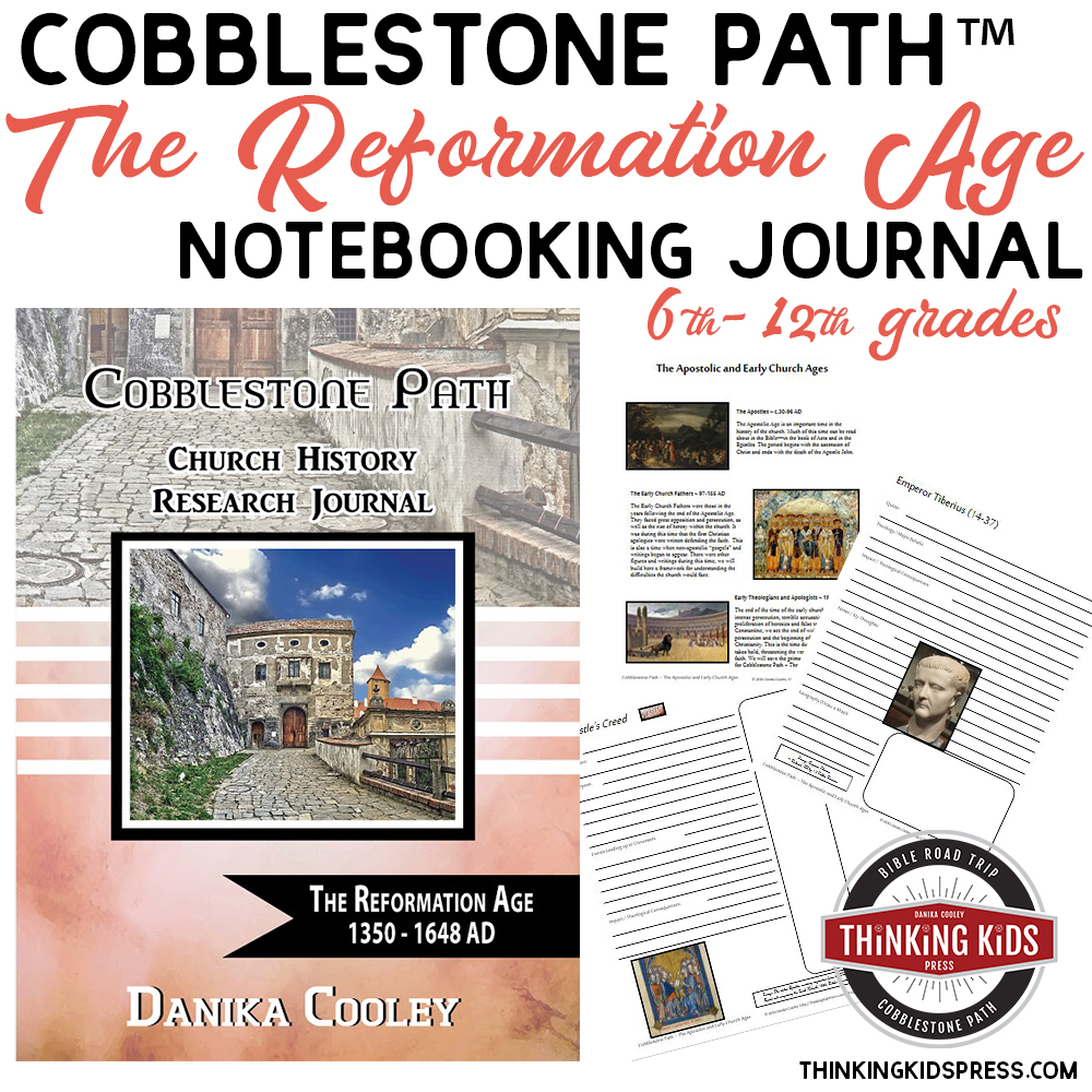Cobblestone Path™ Church History Research Journals