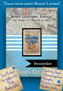 FREE Discussion Guide for When Lightning Struck! The Story of Martin Luther