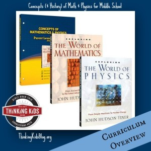 This is a great overview of concepts of math and physics for middle school students!