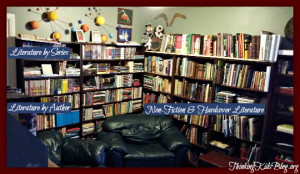 Check out how we organize our homeschool books