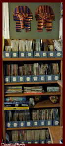Check out how our homeschool room / library is organized.