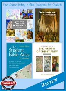 Four Church History & Bible Resources for Students ~ Kindle Sale through 7/31/16!
