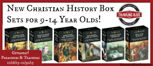 Trailblazers Christian History for 9-14 year olds now come in box sets!