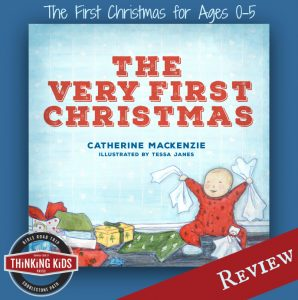 The Very First Christmas ~ A Sweet Book for Kids ages 0-5!