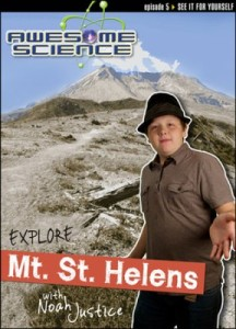 Check out the fabulous Awesome Science with Noah Justice series! #CreationScience ~ Learn about the science of Mt. St. Helens!