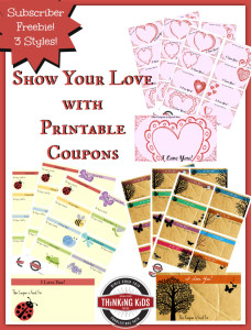 Valentine's Day Coupons for Kids