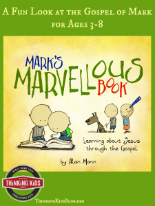 This is a fabulous book for kids ages 3-8 on the gospel of Mark!