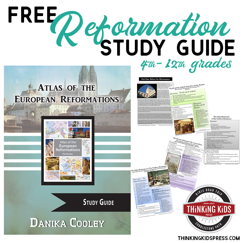 Free Reformation Study Guide for 4th-12th Grades