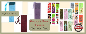 Gifts for Book Lovers ~ Kids and Teens. Check out these bookmarks!