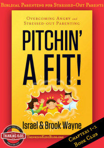 Is anger *really* a problem? Join us for a study of Pitchin' A Fit ~ the first two chapters.